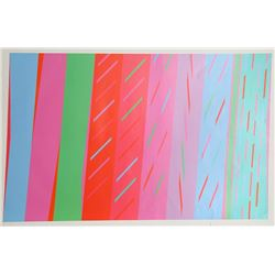 Martin Canin, Abstract Geometric Serigraph