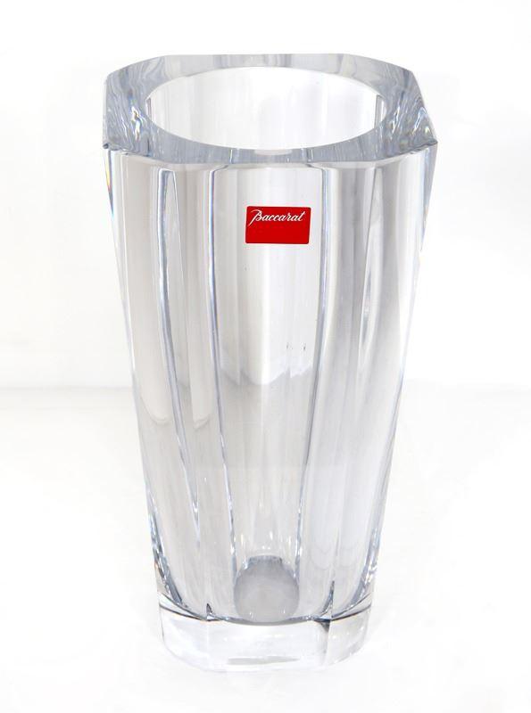 Baccarat Diane 250 Crystal Vase With Box And Documentation