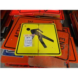 ROAD AND HAZARD SIGNS  ASSORTMENT