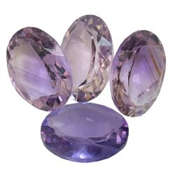 30.18ctw Oval Mixed Amethyst Parcel
