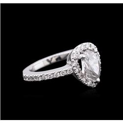 1.51ctw Diamond Ring - 14KT White Gold
