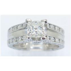 1.75ctw Diamond Ring - Platinum