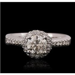 14KT White Gold 1.41ctw Diamond Ring