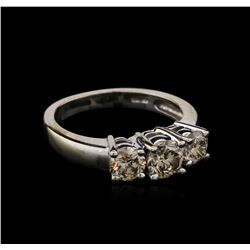 1.53ctw Diamond Ring - 14KT White Gold