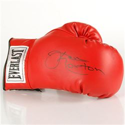 Official Autographed Boxing Glove By Ken Jawbreaker Norton