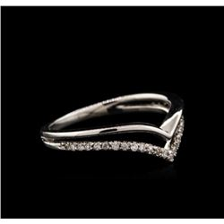 0.13ctw Diamond Ring - 14KT White Gold