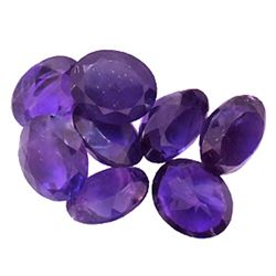 35.49ctw Oval Mixed Amethyst Parcel