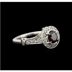 1.88ctw Diamond Ring - 14KT White Gold