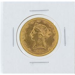 1880 $10 Liberty Head Eagle Gold Coin