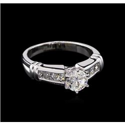 1.40ctw Diamond Ring - 14KT White Gold