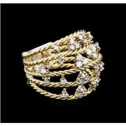 0.60ctw Diamond Ring - 14KT Yellow Gold