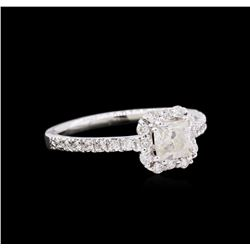 1.02ctw Diamond Ring - 14KT White Gold