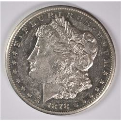 1878-CC MORGAN DOLLAR AU/UNC SEMI-PL
