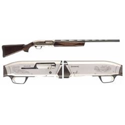 "*NEW* Browning Maxus Hunter SA 12ga 28"" 3.5"" Walnut Nickel Rcvr Blued Brl 023614065913"
