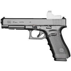 "*NEW* Glock PG3530101MOS G35 Gen 4 MOS DA 40 S&W 5.3"" 10+1 AS Poly Grip/Frame Black 764503002601"