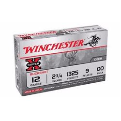 "*AMMO* Win XB1200 Super X Buckshot 12 ga 2.75"" 9 Pellets 00 Buck Shot (200 ROUNDS) 020892007079"