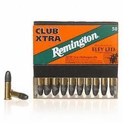 *AMMO* Remington Ammunition RE22CX Eley 22 LR Lead Round Nose 40 GR (500 ROUNDS) 047700009209