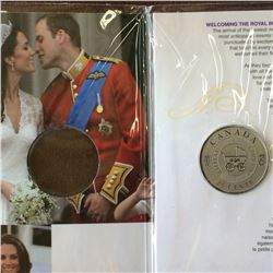 RCM Product: 25 cents 2011 H.R.H Prince William of Wales.