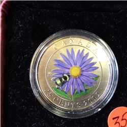 RCM Product: 25 cents 2012 Aster with Bumble Bee.