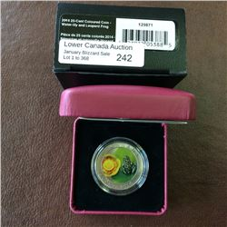 RCM Product: 25 cents 2014 Water Lily and Leopard Frog.