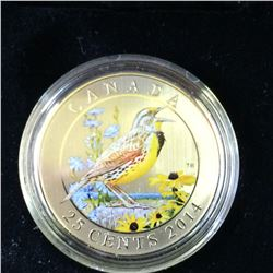 RCM Product: 25 cents 2014 The Eastern Meadowlark.