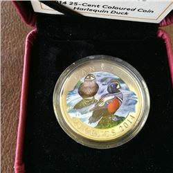 RCM Product: 25 cents 2014 Harlequin Duck.