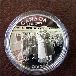 RCM Product: 1 dollar 2014 100th Anniversary of World War I From Set.