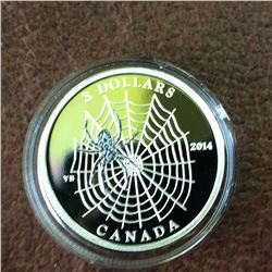 RCM Product: 3 dollars 2014 Spider and Web.