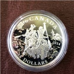 RCM Product: 15 dollars 2014 The Voyageurs.