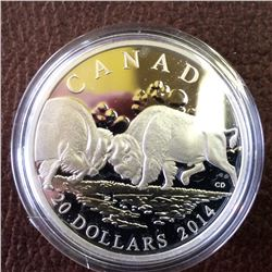 RCM Product: 20 dollars 2014 Bisons - the Fight.