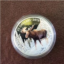 RCM Product: 20 dollars 2015 The Majestic Moose.