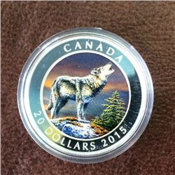 RCM Product: 20 dollars 2015 the Rocky Mountain Wolf.
