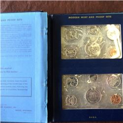 Uncirculated Sets in Whitman Album; 1970, 1971, 1972, 1973, 1974, 1975, 1976 & 1977. 8 sets in album