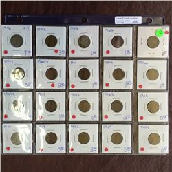 USA assorted coin lot.