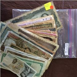 Large lot of used world banknotes, some good material through out.