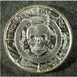 2 oz .999 Siren Privateer Silver Round. Ultra High Relief