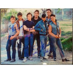 11x14 autographed photo from the 'Outsiders'