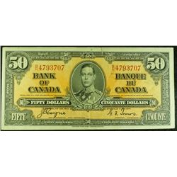 1937 - BC26c - $50 Dollar - Bank of Canada - Coyne-Towers Signature