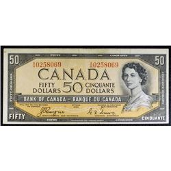 1954 - BC34a - $50 Dollar Devils Face bank note