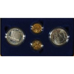 1987 CONSTITUTION 6-PIECE PROOF COMMEMORATIVE SET, SET INCLUDES: