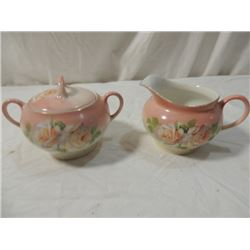 Z S & G CO. BAVARIA FINE CHINA CREAM SUGAR SET