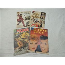 LOT 4 EARLY DELL 1960'S COMIC BOOKS LUCY KONA