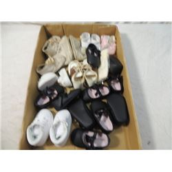 HUGE LOT BABY DOLL SHOES ANTIQUE VINTAGE NEW