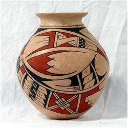 Mexican Mata Ortiz Polychrome Paquime Inspired Jar