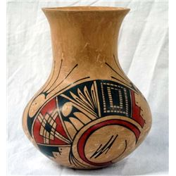 Mexican Mata Ortiz Polychrome Jar by L. G. Rios