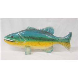 Authentic Ice Fishing Fish Decoy