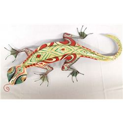 Metal Wall Art Gecko