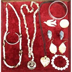 Collection of Shell Jewelry