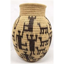 Ethnic Pictorial Basket