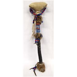Estate Native American Beaded Dance Rattle